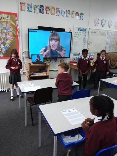 We took part in a very exciting session with Rosie!