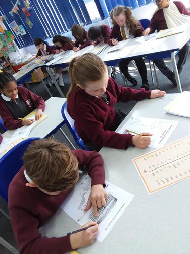 We really enjoyed learning about Roman Numerals!