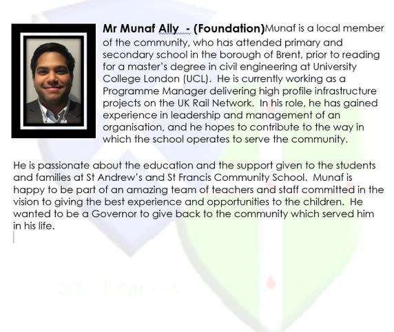 Munaf Ally - (Foundation)