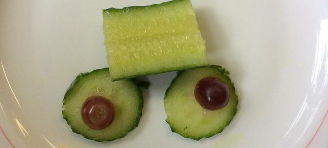 """A cucumber """"car"""""""
