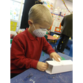 Health and safety - masks for sanding.