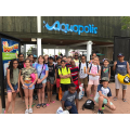 Arriving at Aquopolis Waterpark