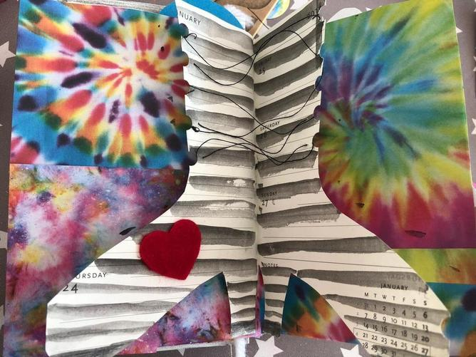 Miss Ferrans' altered book session