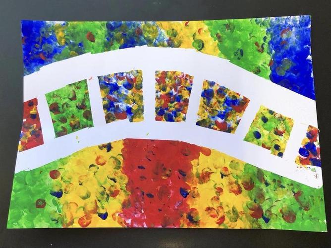 Miss Jones' artwork inspired by Claude Monet