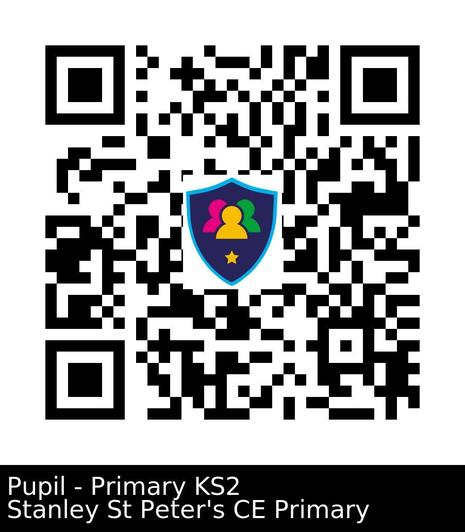 QR Code to scan and download the Safer Schools App for pupils