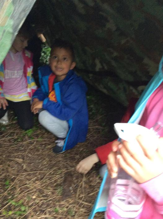 You can learn so much from building a den.