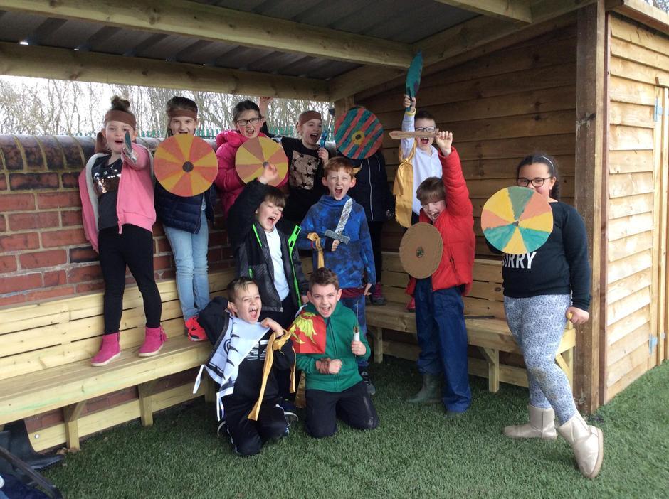 Vikings and Anglo Saxons!