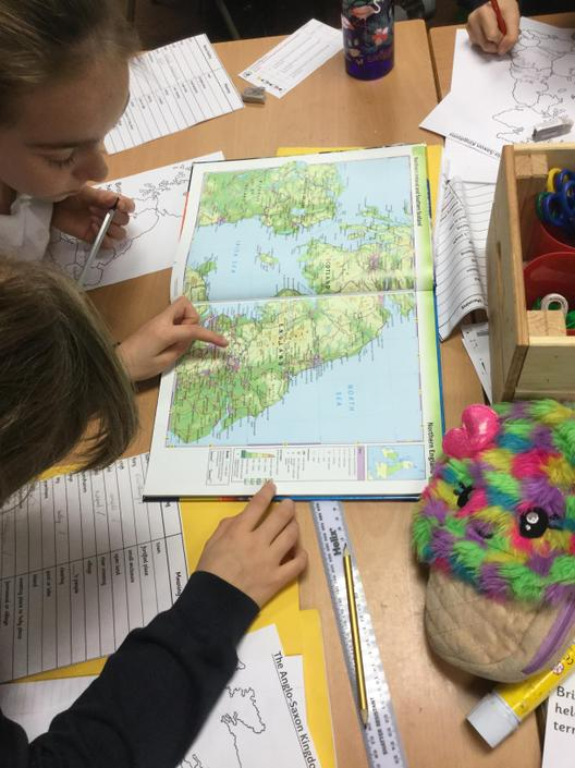 Year 5: Map Skills in the UK