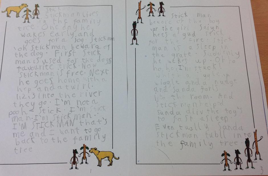 Our version of the Stickman story