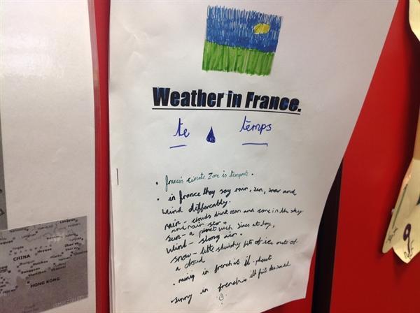 Ruby's homework on France