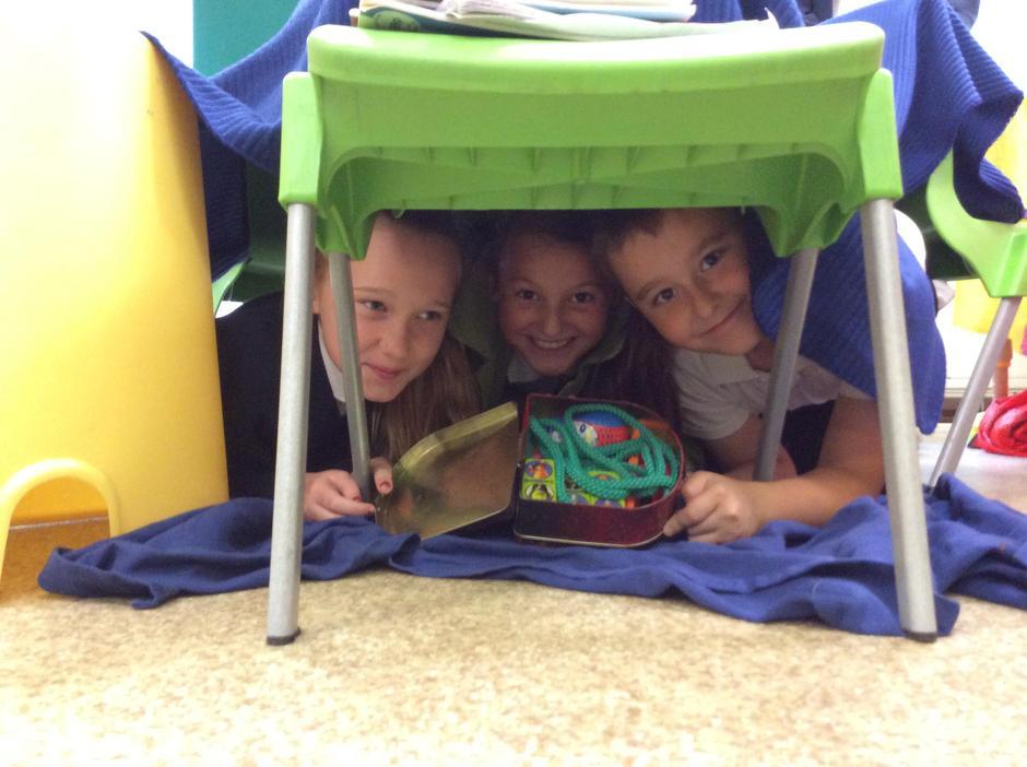 A snug shelter!