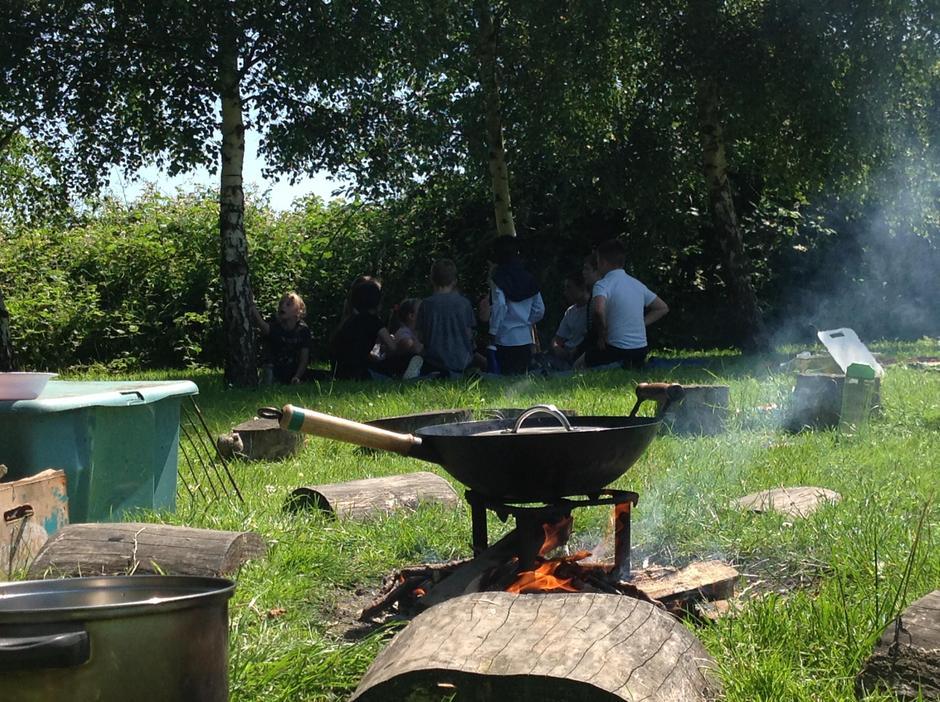 Arty campfire shot 😄