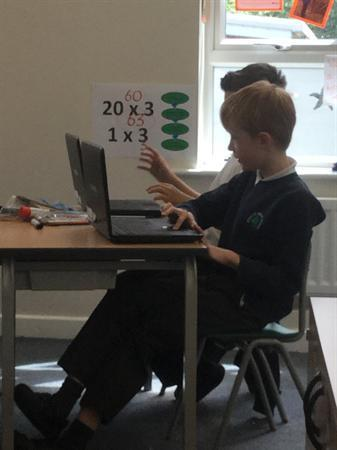Mathletics in Year 5
