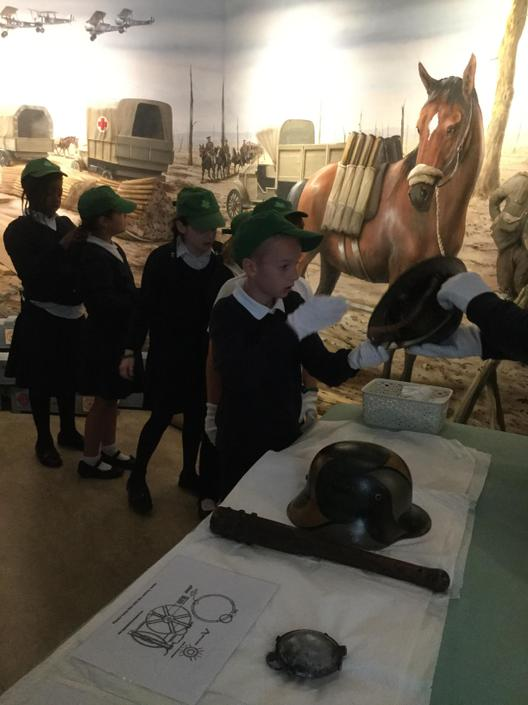 Class 5 at York Castle Musuem (WW1)