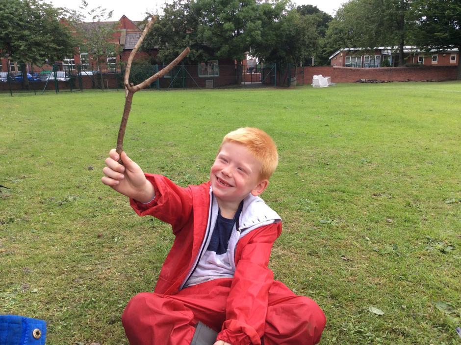 'It's a selfie stick!'