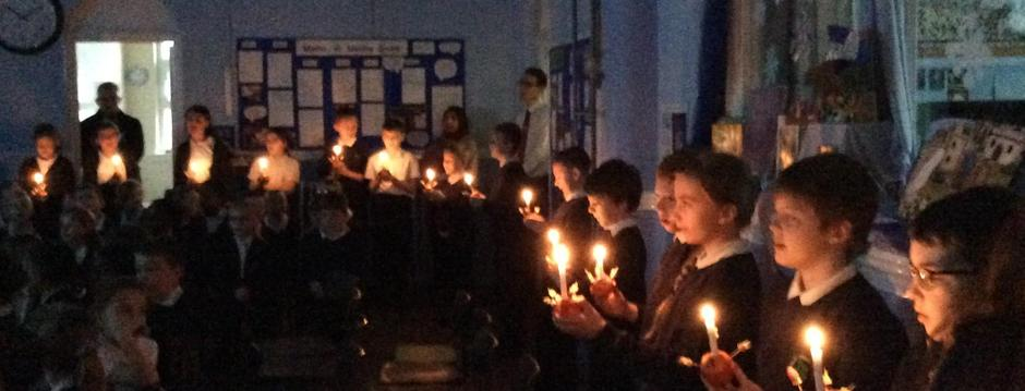 Class 6 - with their christingles