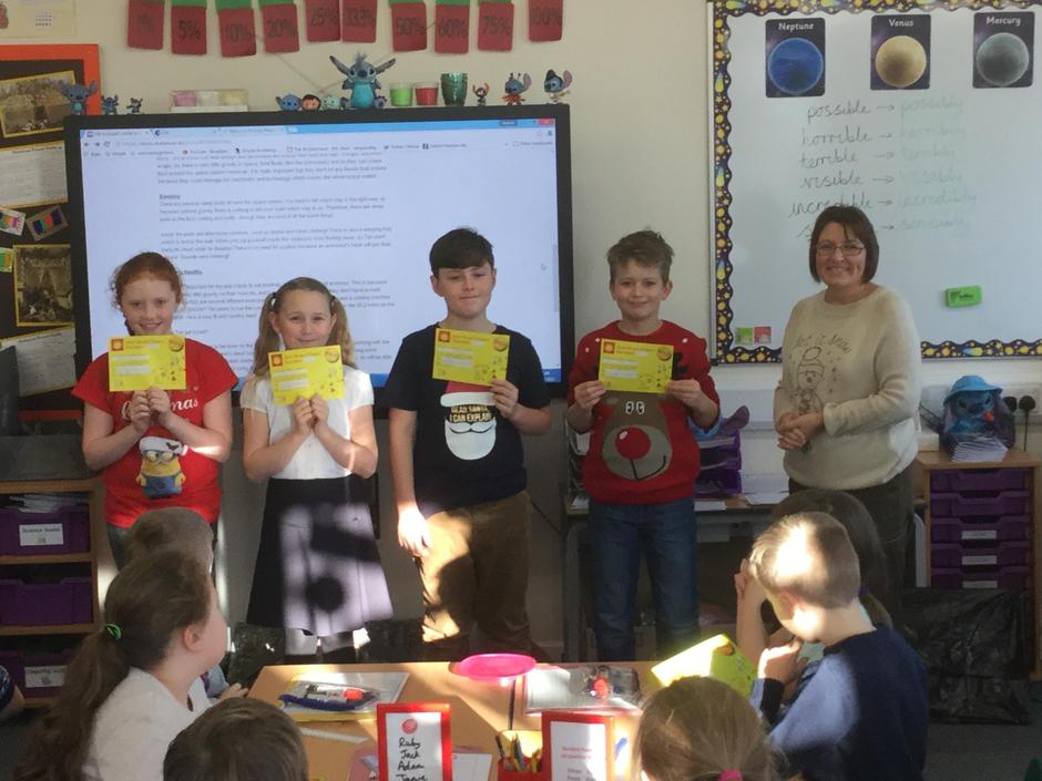 Gold Maths Award