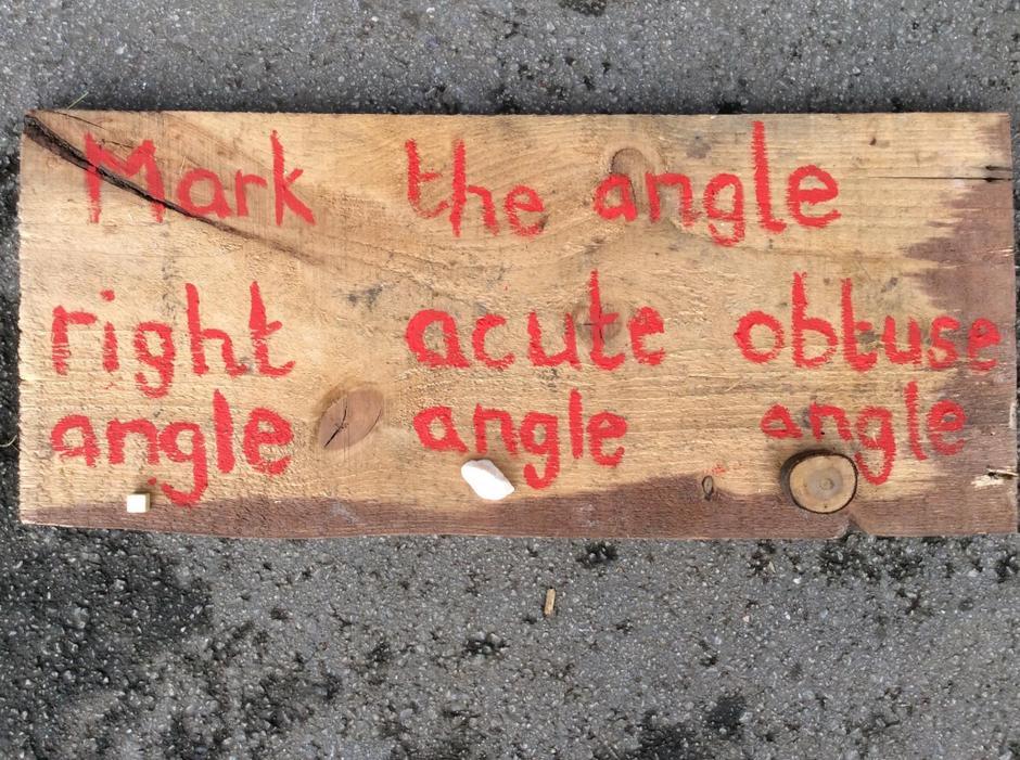 Angles, angles everywhere.
