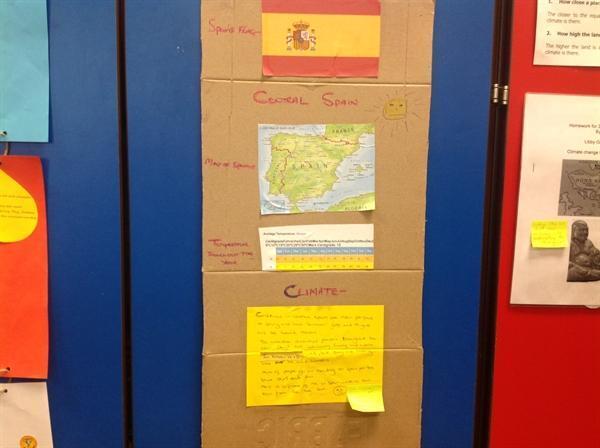 Aleece's homework on Spain