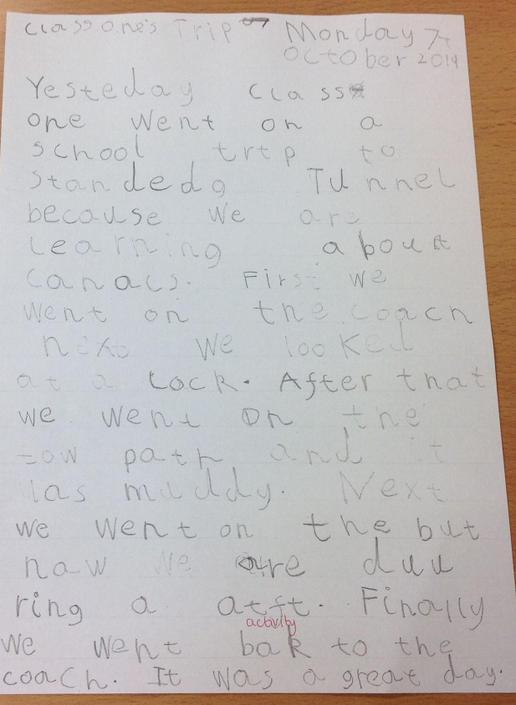 A report about a school visit