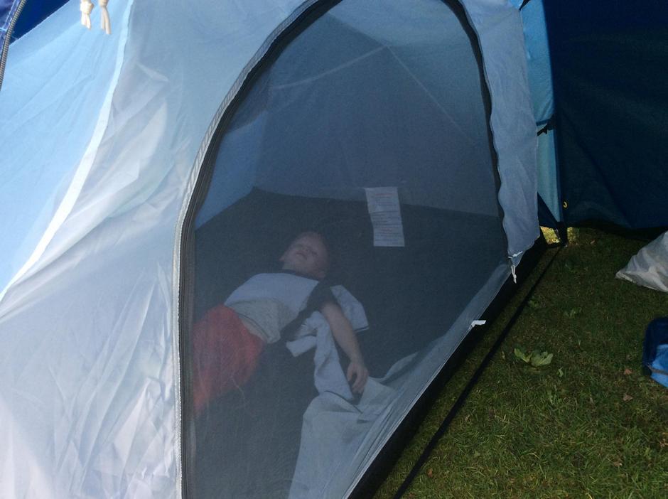 We love tents.