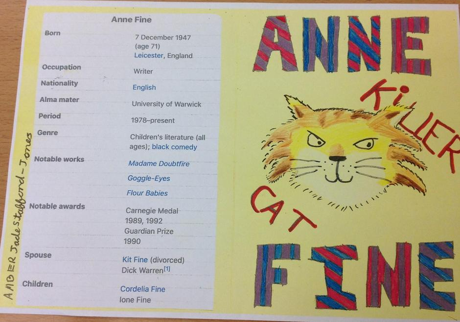 Information about Anne Fine