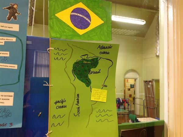Sarah's homework on Brazil