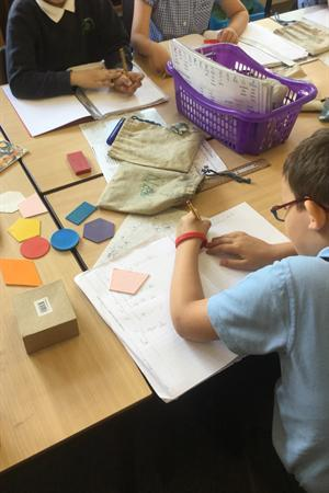 Year Two using concrete resources