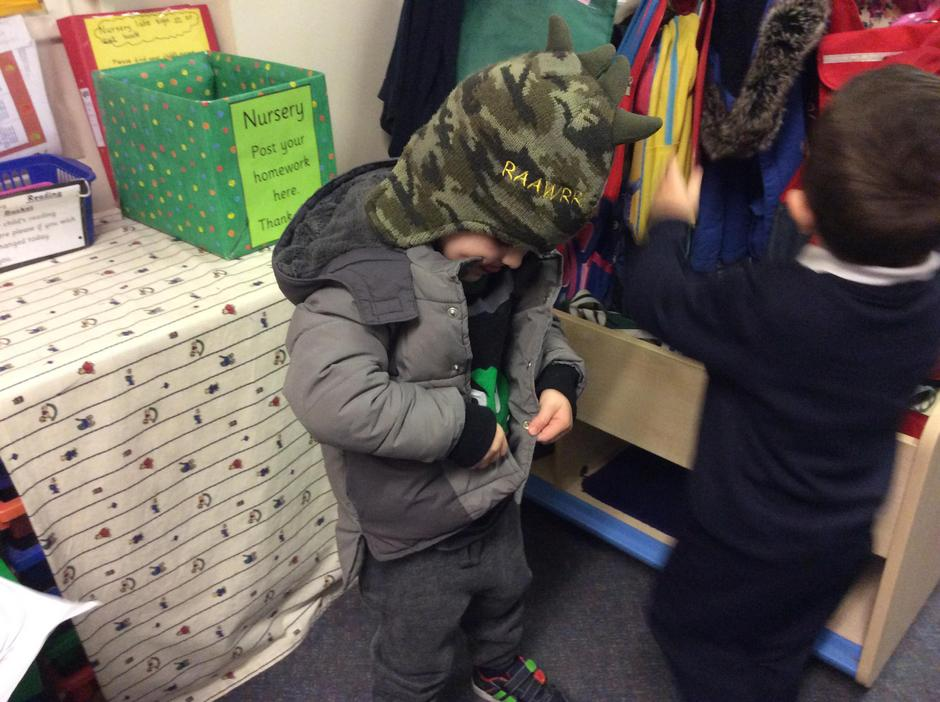 Getting ready for Forest School