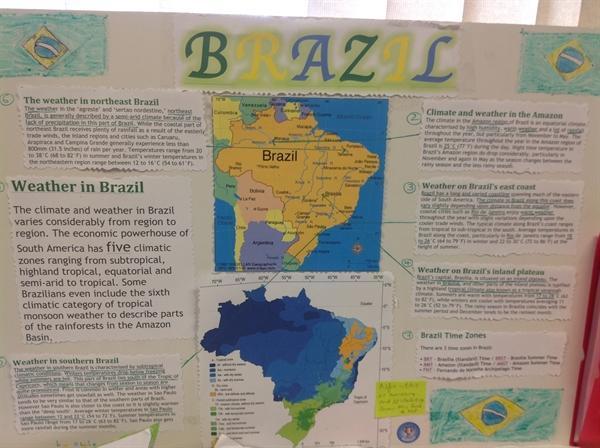 Alfie's homework on Brazil