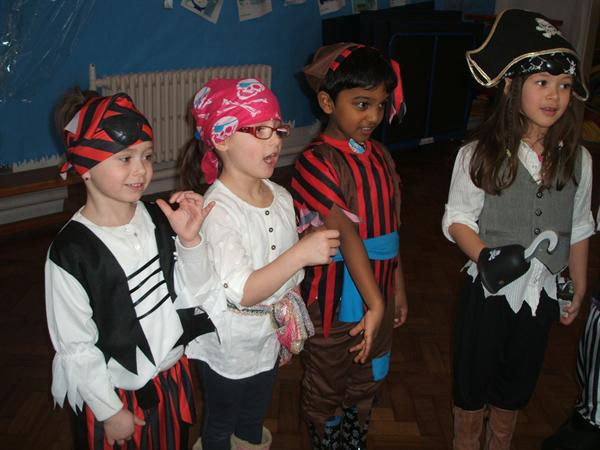 Year 1 Pirate Day - 22nd January 2013.