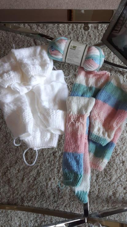Mrs Camp's art and craft knitting