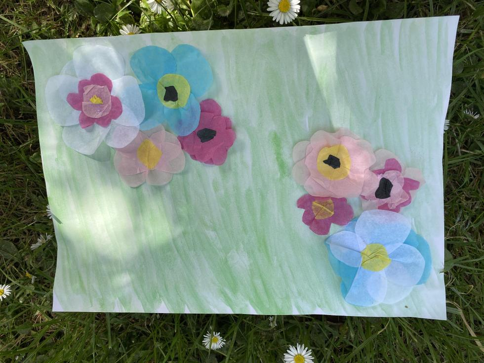 Miss Penny's 3D flower picture