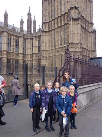 Year 2 Visit to House of Lords