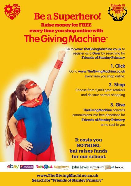 The Giving Machine Poster