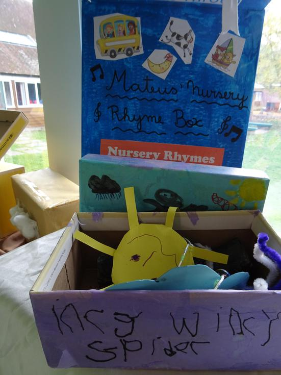 Nursery Rhyme box