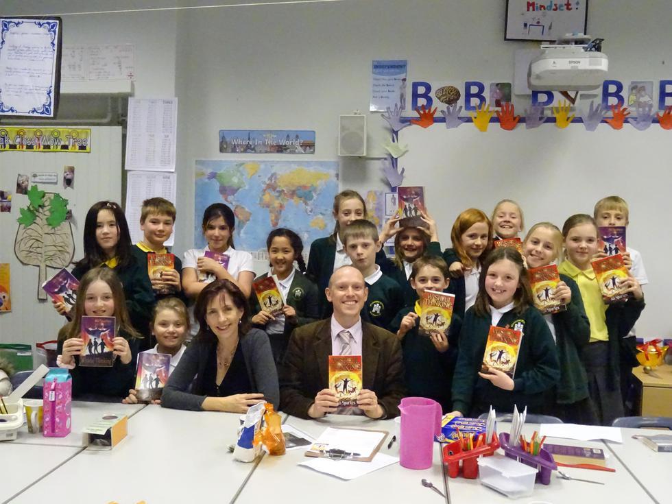 Ali Sparkes book club visit