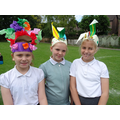 More fabulous head gear!