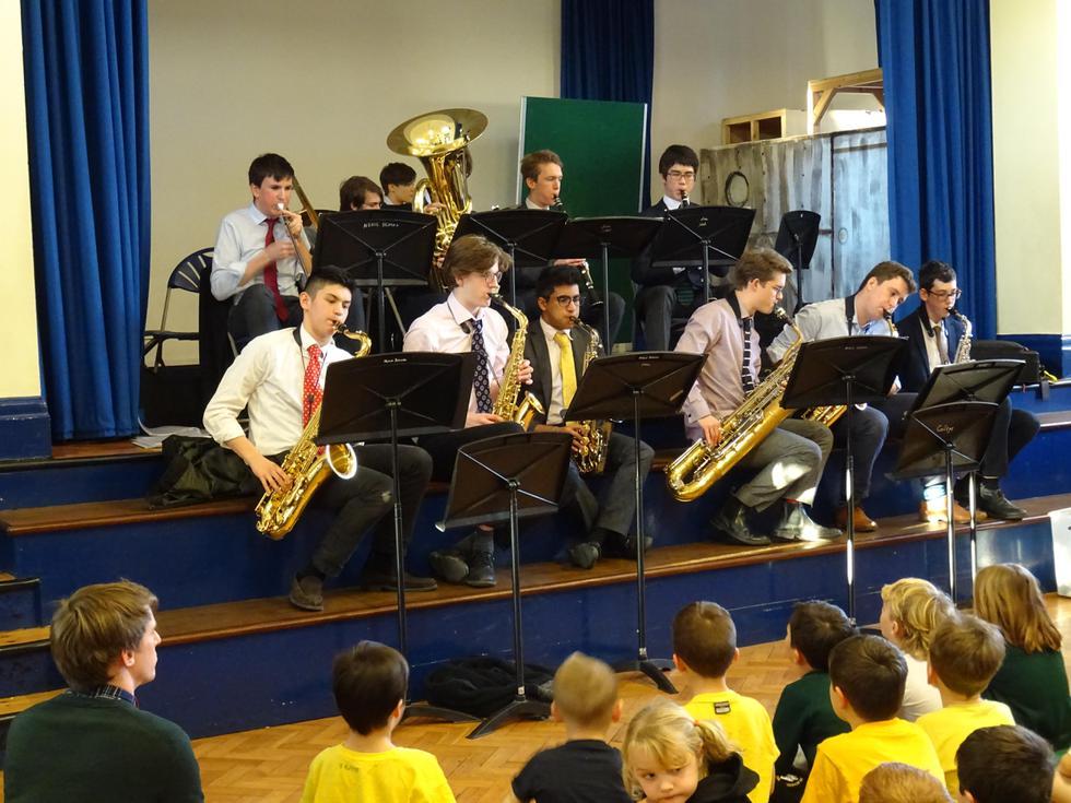 Win Coll Jazz Concert