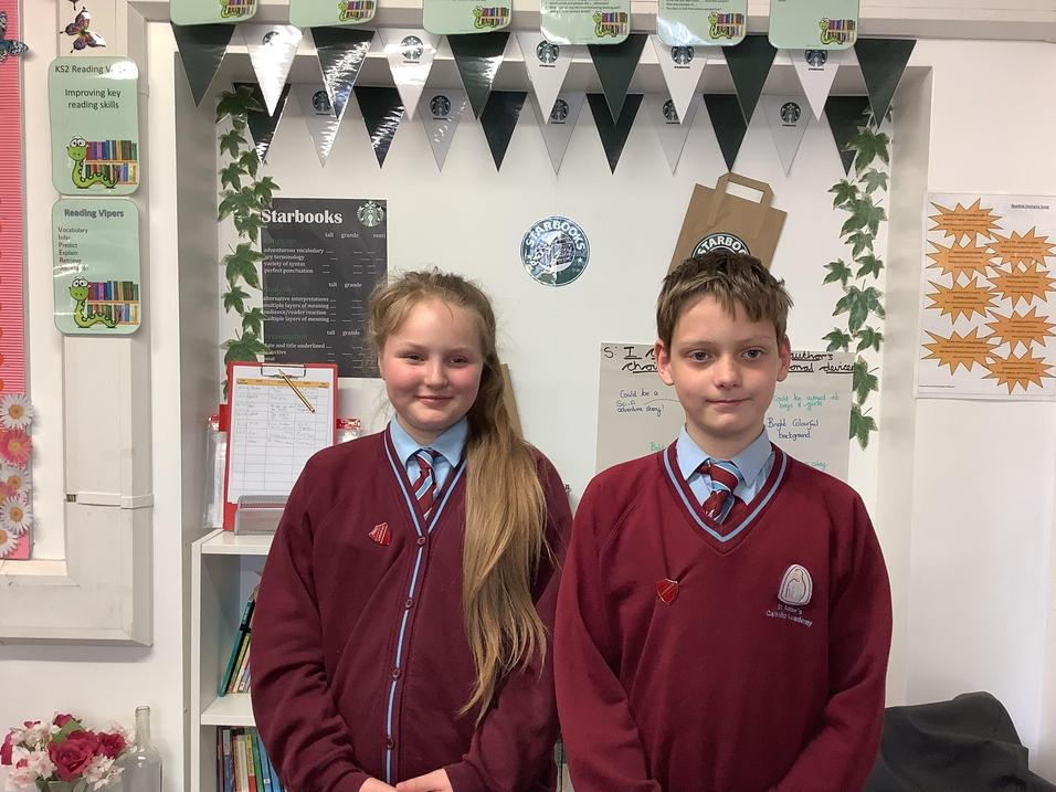 Our Year 6 Librarians