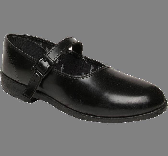 Black School Shoes (No High Heels)