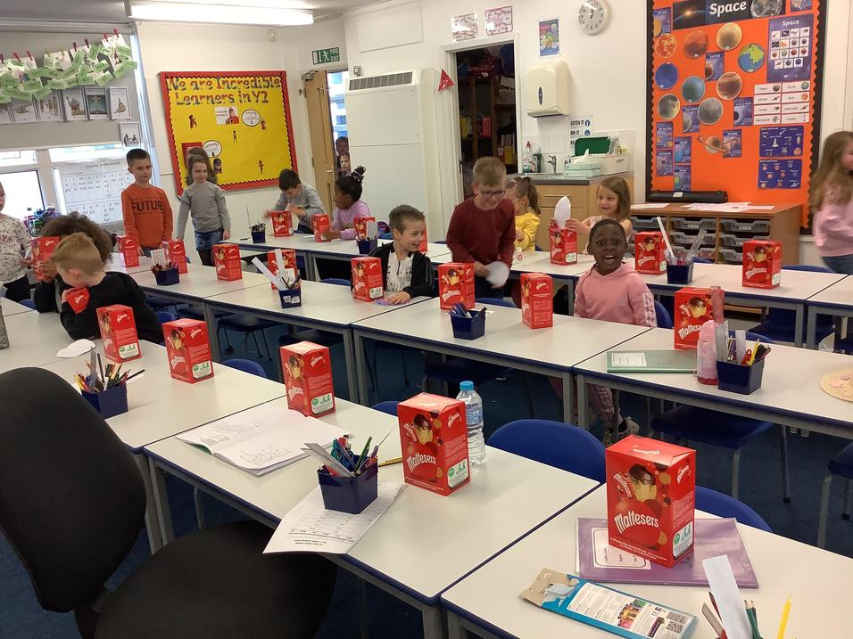 An Easter treat awaited us in the classroom...