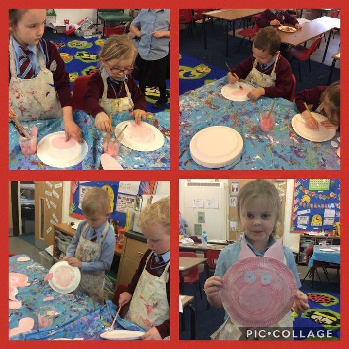Making Pig masks