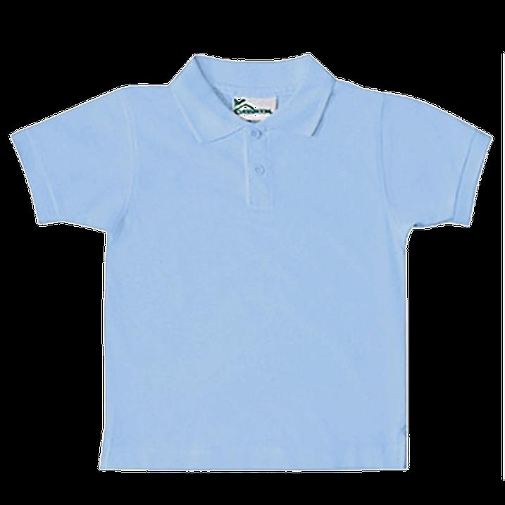 Pale Blue Polo Shirt