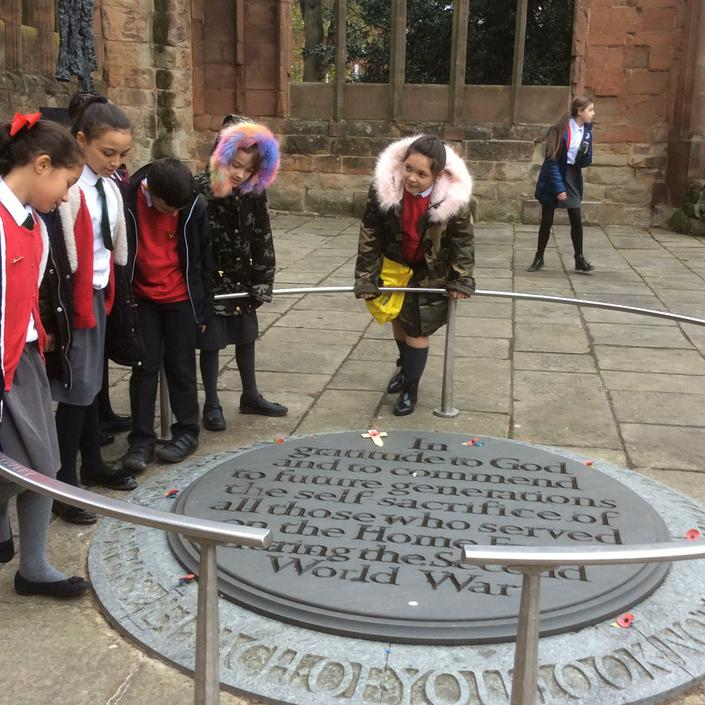 Our visit to Coventry Cathedral.