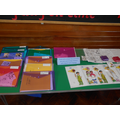 We showed parents some of the resources we use.