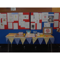 We showcased children's work