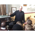 Father Whitwell kindly showed us around our church