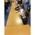 We learnt how to taste chocolate using the senses.