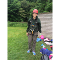 Ready for Abseiling